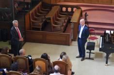 Eric Négron, Premier Président de la Cour d'appel de Montpellier et Président d'Honneur de Tout en Mesure et Sylvain Bottineau