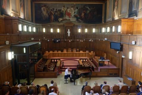 Salle des Assises de la Cour d'appel de Montpellier, concert du 7 juillet 2017