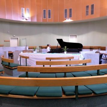 Répétition dans la salle d'audience du Tribunal