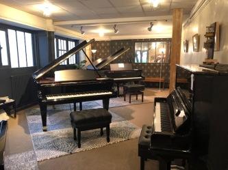 La salle réservée aux pianos Bosenderfer