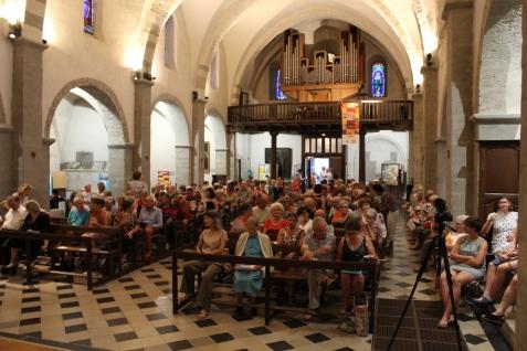 Un public très nombreux...