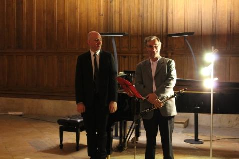 Sylvain Bottineau et Didier Lionet